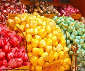 Rompicapo di Caramelle e i suoi colori