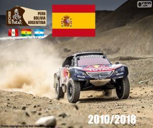 Rompicapo di Carlos Sainz Dakar 2018