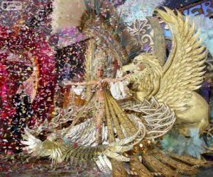 Rompicapo di Carnevale di Santa Cruz de Tenerife, Spagna