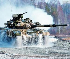 Rompicapo di Carro armato russo T-90S