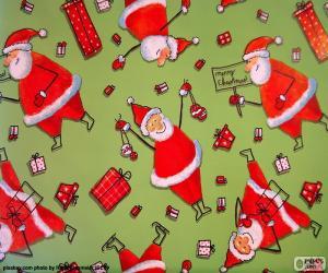 Rompicapo di Carta di Babbo Natale