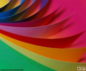 Rompicapo di Cartoncini di colori