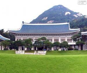 Rompicapo di Casa Blu, Seoul, Corea del sud
