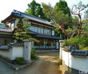 Rompicapo di Casa tradizionale giapponese