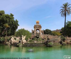 Rompicapo di Cascata di Parc de la Ciutadella, Barcellona