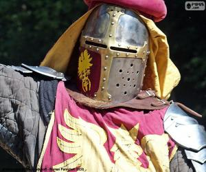 Rompicapo di Casco del cavaliere