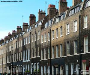 Rompicapo di Case tipiche di Londra