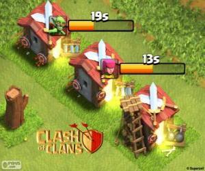 Rompicapo di Caserma Clash of Clans