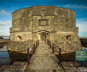 Rompicapo di Castello Calshot, Inghilterra