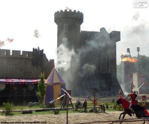 Rompicapo di Castello del Medioevo
