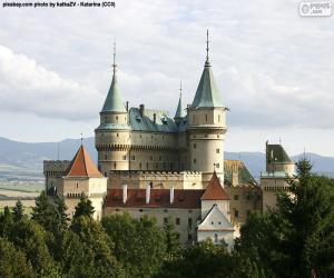 Rompicapo di Castello di Bojnice, Slovacchia