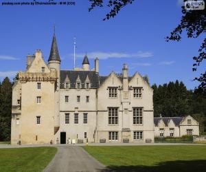 Rompicapo di Castello di Brodie, Scozia