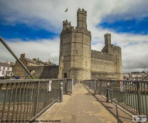 Rompicapo di Castello di Caernarfon, Galles