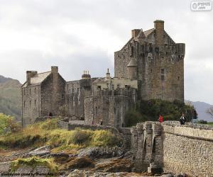 Rompicapo di Castello di Eilean Donan, Scozia