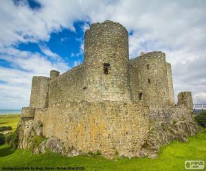 Rompicapo di Castello di Harlech, Galles