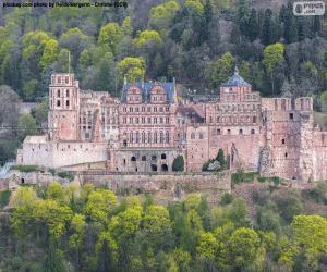 Rompicapo di Castello di Heidelberg, Germania