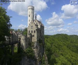 Rompicapo di Castello di Lichtenstein, Germania