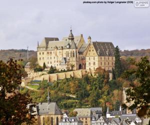 Rompicapo di Castello di Marburg, Germania