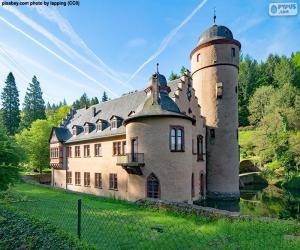 Rompicapo di Castello di Mespelbrunn, Germania