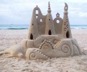 Rompicapo di Castello di sabbia