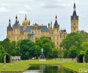 Rompicapo di Castello di Schwerin, Germania