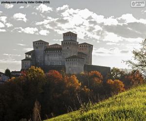 Rompicapo di Castello di Torrechiara, Italia