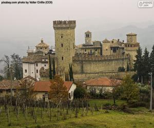 Rompicapo di Castello di Vigoleno, Italia