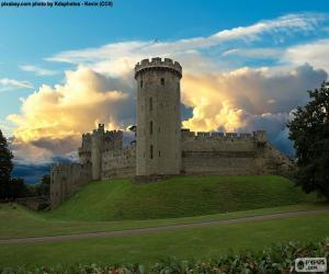 Rompicapo di Castello di Warwick, Inghilterra