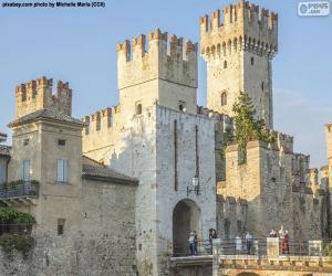 Rompicapo di Castello Scaligero, Italia