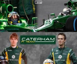 Rompicapo di Caterham F1 Team 2013
