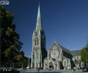 Rompicapo di Cattedrale di Christchurch, Nuova Zelanda