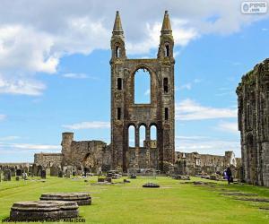 Rompicapo di Cattedrale di St. Andrews, Scozia