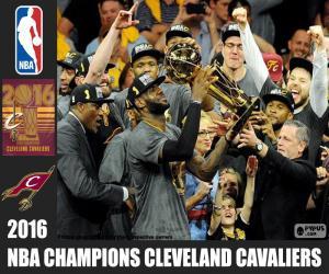 Rompicapo di Cavaliers, campione NBA 2016