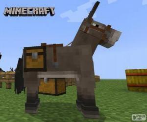 Rompicapo di Cavallo di Minecraft