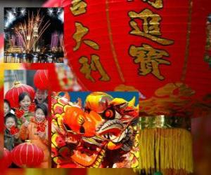 Rompicapo di Celebrazione del capodanno cinese