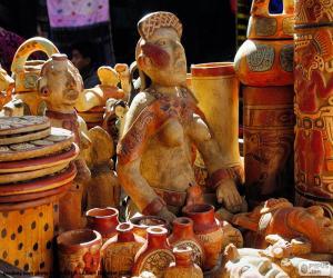 Rompicapo di Ceramiche Maya