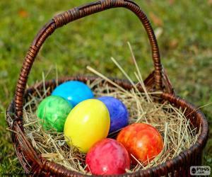 Rompicapo di Cestino delle uova di Pasqua