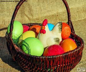 Rompicapo di Cestino di Pasqua