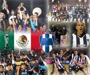 Rompicapo di CF Monterrey Torneo Apertura 2010 Campione