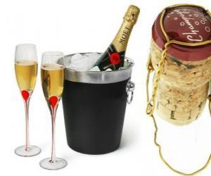 Rompicapo di Champagne è un tipo di vino spumante prodotto con il metodo champenoise nella regione di Champagne, in Francia.