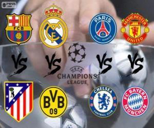 Rompicapo di Champions League - UEFA Champions League 2.013-14 Quarti di finale