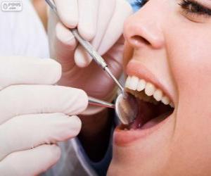 Rompicapo di Checkup dentale
