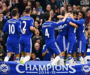 Rompicapo di Chelsea FC campione 2014-15