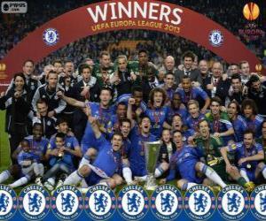 Rompicapo di Chelsea FC, campione UEFA Europa League 2012-2013