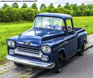 Rompicapo di Chevrolet Apache, 1959