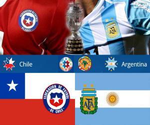 Rompicapo di CHI - ARG finale Copa America15