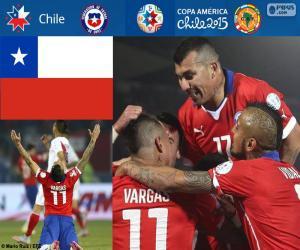 Rompicapo di CHI finalisti, Copa America 15