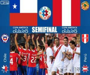 Rompicapo di CHI - PER, Copa America 2015