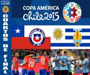 Rompicapo di CHI - URU, Copa America 2015