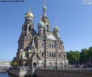 Rompicapo di Chiesa del Salvatore sul Sangue Versato, Russia